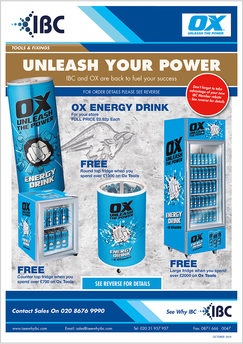 Direct Response Marketing Promotion for OX Tools
