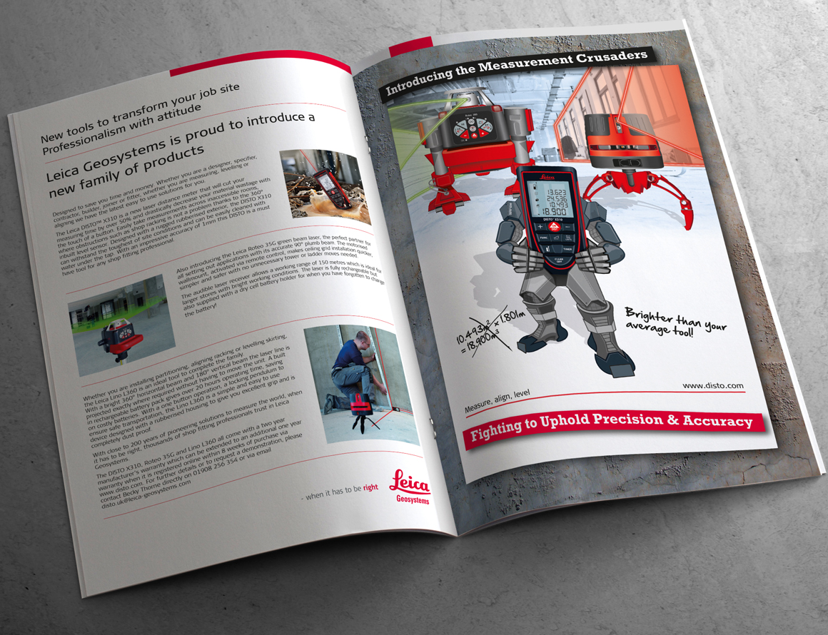Leica Geosystems Advertorial