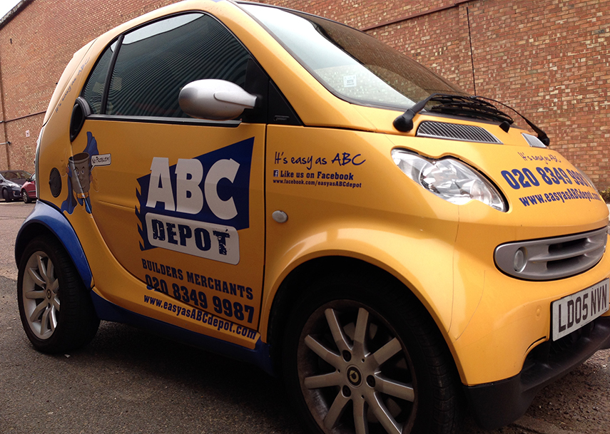 ABC Depot Branded Vehicle Wrap