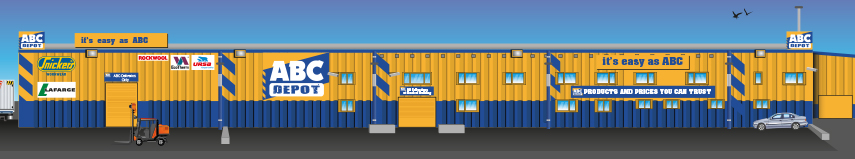 External building design for ABC Depot
