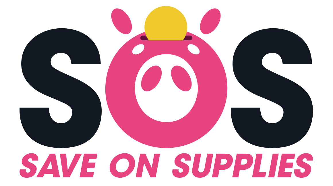 Logo design for Save on Supplies