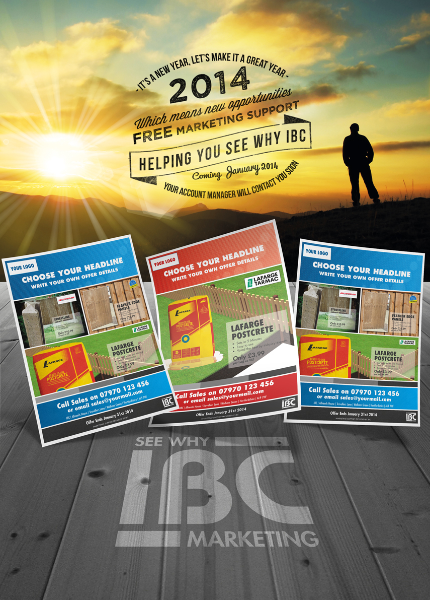 Trade Press Ad Promoting the Marketing Support system I built for IBC